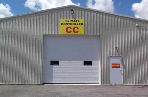 WITH OUR SEVERAL ACCESS DOORS YOU CAN UNLOAD JUST FEET FROM YOUR CLIMATE CONTROLLED STORAGE SPACE. & N.E.W Storage